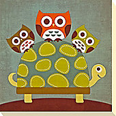 Owl & Friends Canvas Picture 4
