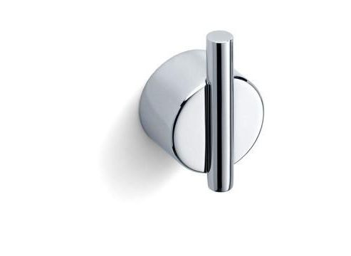 Blomus duo polished wall hook, screw fix