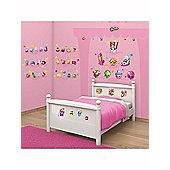 Walltastic Shopkins Room Decor Wall Sticker Kit