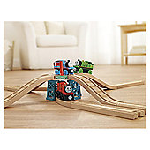 Fisher-Price Thomas and Friends Wooden Railway Elevated Crossing Gate