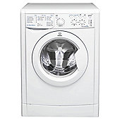 Indesit IWSC61251 Washing Machine, 6Kg Wash Load, 1200 RPM Spin, A+ Energy Rating, White