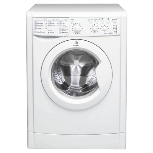 Indesit IWSC61251 Washing Machine, 6kg Load, 1200 RPM Spin, A+ Energy Rating, White