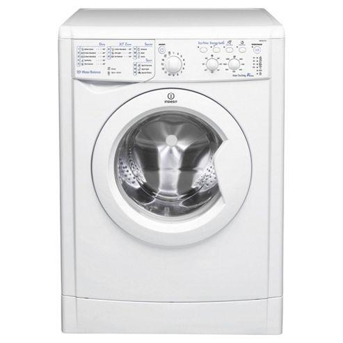Indesit IWSC61251 Eco, Freestanding Washing Machine, 6Kg Wash Load, 1200 RPM Spin, A+ Energy Rating, White