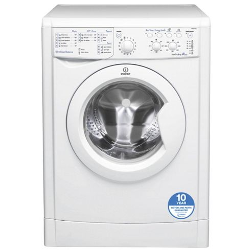 Indesit IWSC61251 Eco, Freestanding Washing Machine, 6Kg Wash Load, 1200 RPM Spin, A+ Energy Rating, White