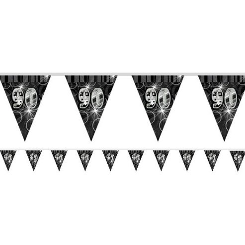 Dazzling Effects 90th Flag Banner - 12ft (each)