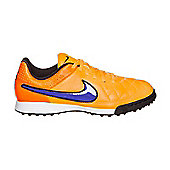 Nike JR TIEMPO GENIO LEATHER TF - Orange - Orange