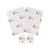 Mothercare New Baby Elephant Wrapping Paper