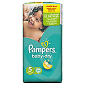 Pampers Baby Dry Size 5 Large Pack - 54 nappies