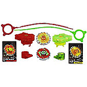 Beyblade Metal Fury Double Pack - Crushing Blast Barrage