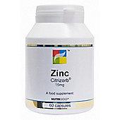 Nutrigold Zinc 15Mg 60 Veg Capsules
