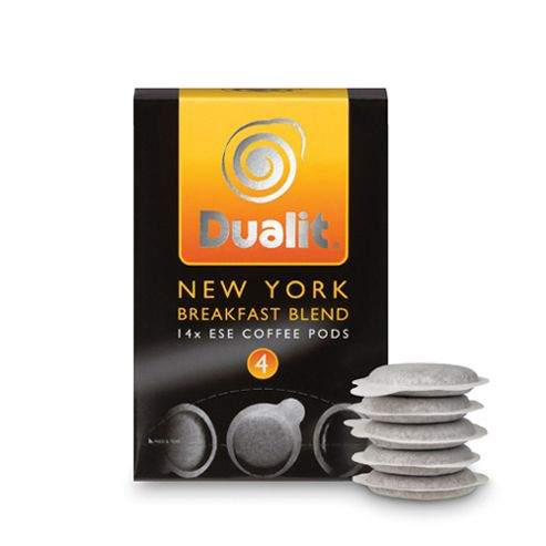 Dualit ESE Pods 'New York' Pack of 14