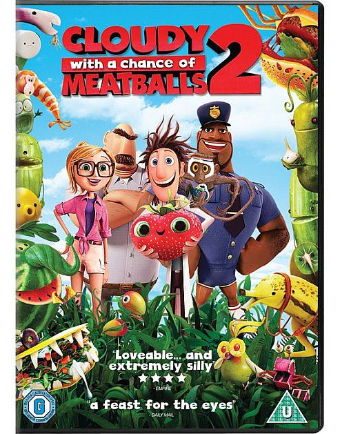 Cloudy With A Chance Of Meatballs 2 (Uv)