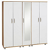 Ideal Furniture Regal 5 Door Wardrobe