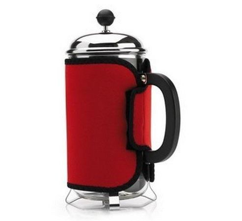 Red 8 Cup Cafetiere Cosy