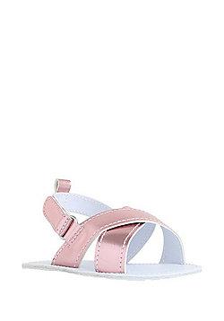 F&F Metallic Sandals - Pink
