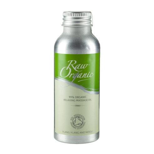 Raw Organic Relaxing Massage Oil [SOS ETA TBC] (100ml Oil)