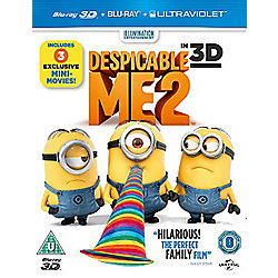 Despicable Me 2 (3D Blu-ray & UV)