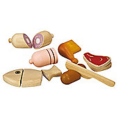 Plan Toys Food Products to Chop Wooden Toy Set