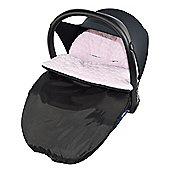 Mashmallow Car Seat footmuff Soft Maxi Cosi Pebble Cabrio Pink