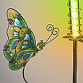 Garden Glows Solar Powered Green Butterfly Garden Stake Light