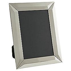 """Tesco Decorative Mirror Photo Frame Smoke 5 x 7"""""""
