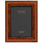 Addison Ross Marquetry Photo Frame with Aztec Fibre Back - 4 in x 6 in