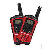 Motorola TLKR T40 2 Way Radios Twin Pack (Walkie Talkie)