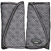 Reversible Strap Covers - Graphite - JJ Cole Collections
