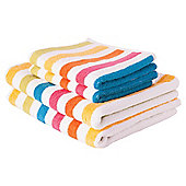 Tesco bright stripe towel bale