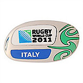 Official Italy Rugby World Cup 2011 Pin Badge