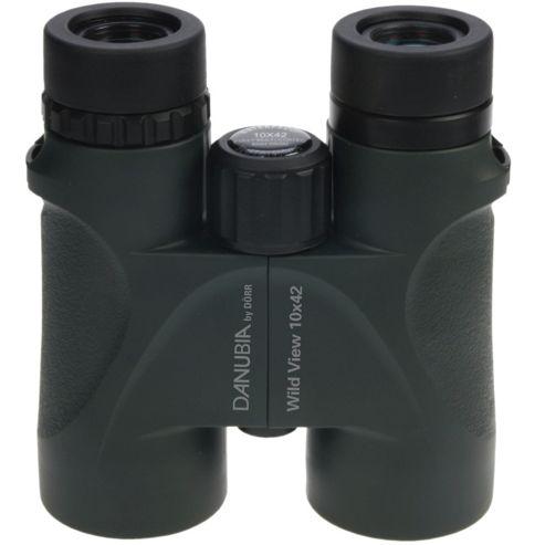 Danubia 533438 WildView 10x42 Roof Prism Binoculars