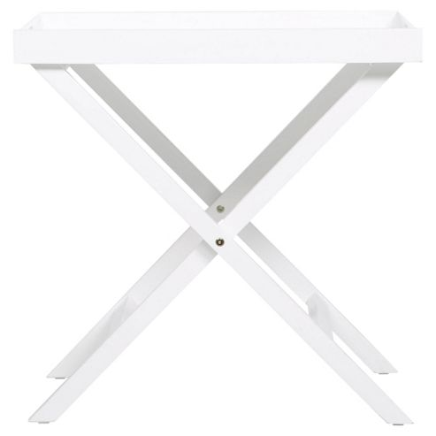 Butlers Tray Table, White
