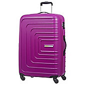 American Tourister Sunset Square 4-Wheel Hard Shell Pink Large Suitcase