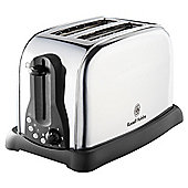 Russell Hobbs 18098S Polished 2 Slice Toaster Silver