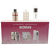 Burberry Woman miniature collection 3 pc