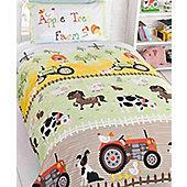 Apple Tree Farm Toddler Duvet set