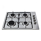 CDA HG6150SS 580mm Stainless Steel Gas Hob