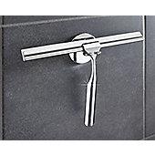 Wenko Turbofix Stainless Steel Shower Wiper With Wall Holder