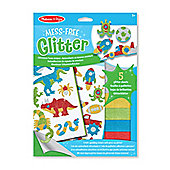 Melissa & Doug Mess Free Glitter - Cool Creatures Foam Stickers