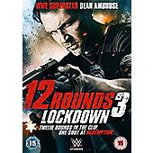 12 Rounds 3: Lockdown DVD