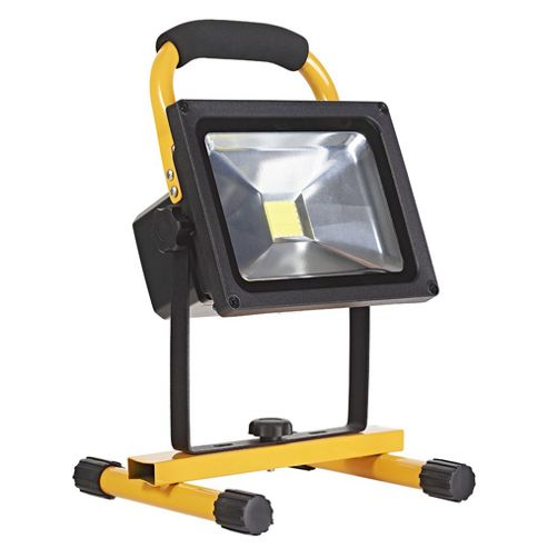 Tesco Novelty Lighting : Buy 20W Rechargeable LED Portable Flood/Work Light IP44 Rated from our Novelty Lighting range ...