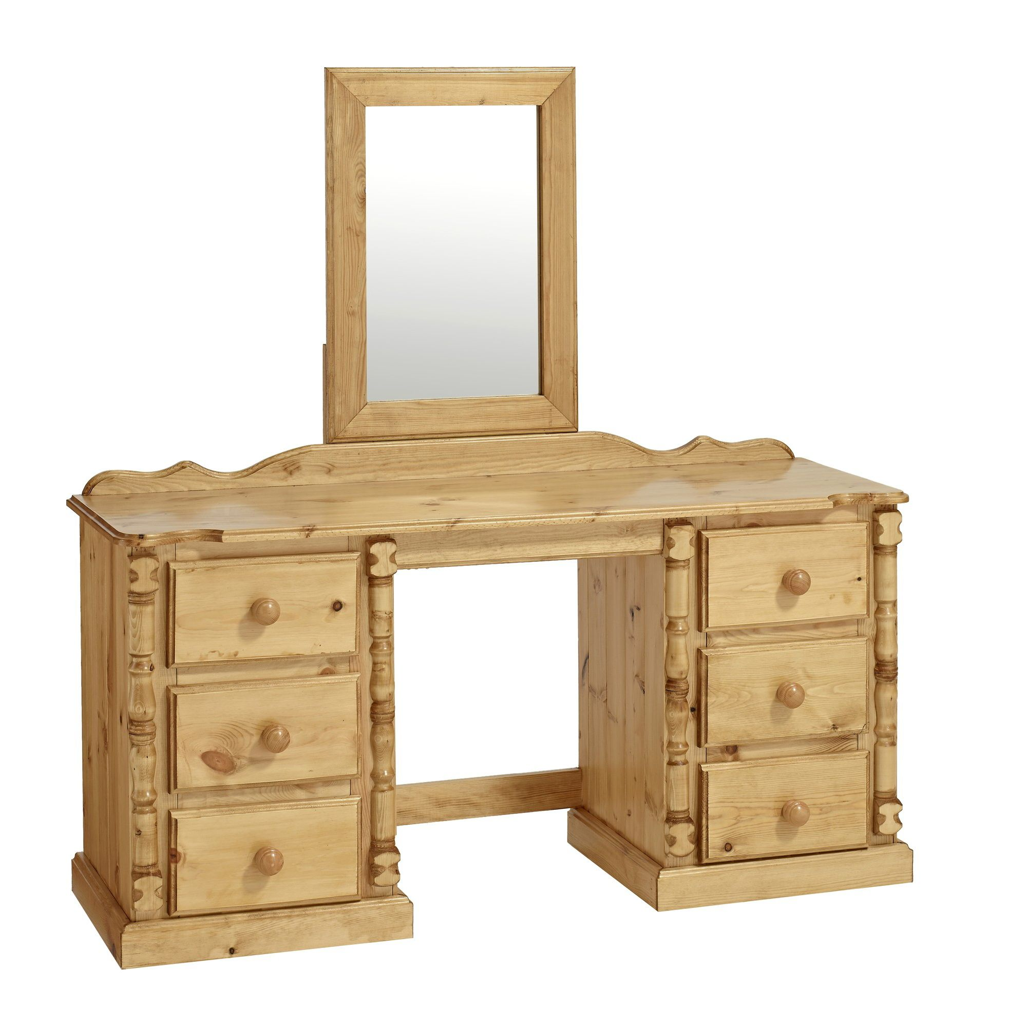 Ideal Furniture Ashley Double Dressing Table at Tesco Direct