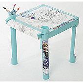 Disney Frozen Colouring Table