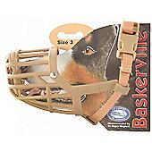 Baskerville Dog Muzzle (Size 3) - Dachshund