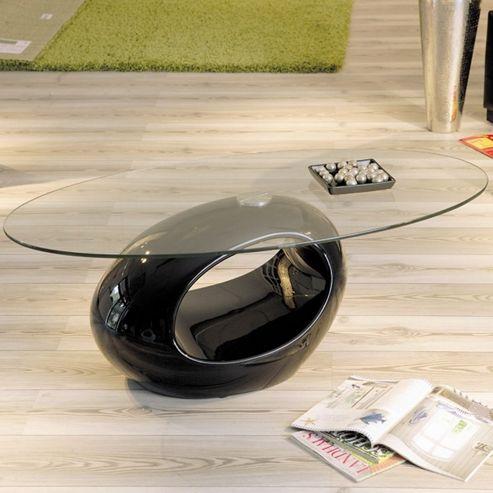 Aspect Design Pucci Coffee Table in Black