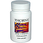 Thorne Research Zinc Citrate 30Mg 60 Veg Capsules