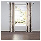 Linden Eyelet Curtains - Grey