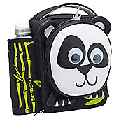 Smash 3D Panda Lunch Bag and Water Bottle Set