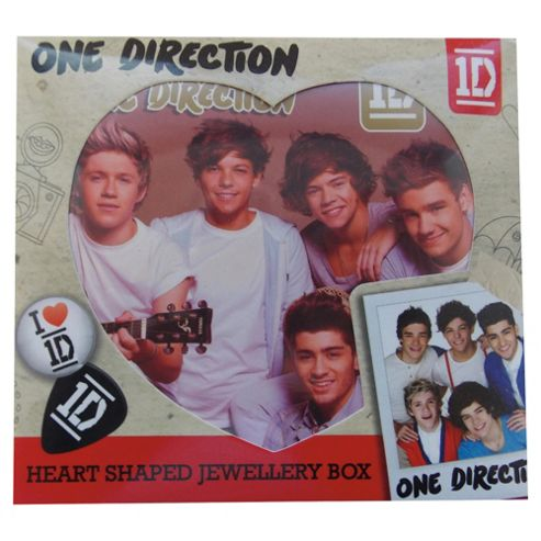 One Direction Heart Shaped Jewellery Box