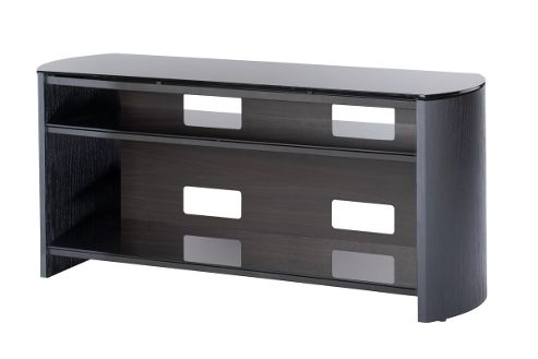 Black Oak Veneer TV Stand for screens up to 50 inch